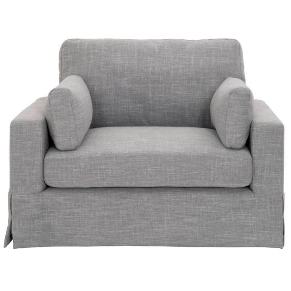 Home Decorators Collection Addilyn Linen Smoke Arm Chair