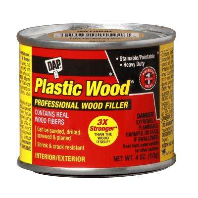 Plastic Wood 4 oz. Natural Solvent Wood Filler