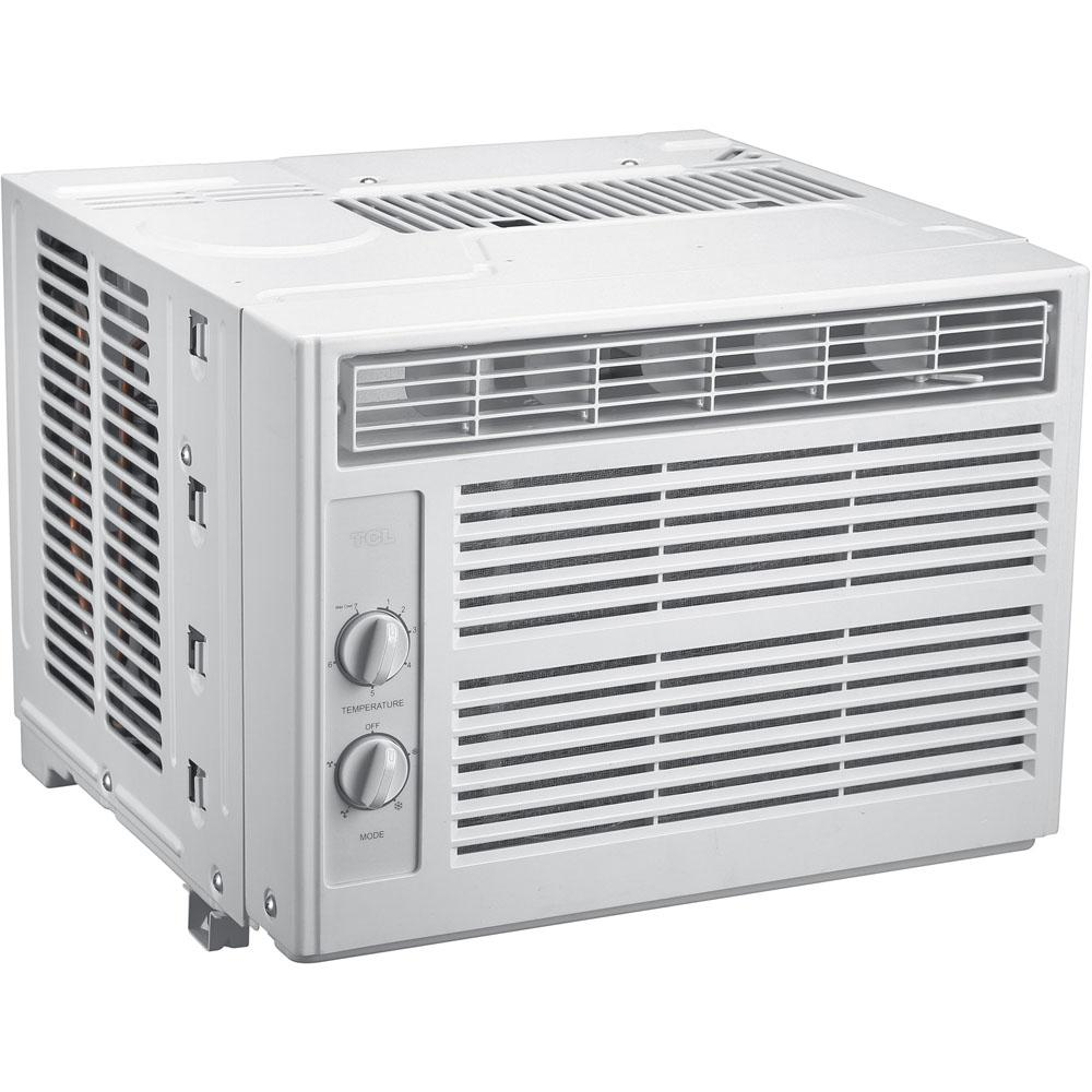 5,000 BTU Window Air Conditioner with Mechanical Controls