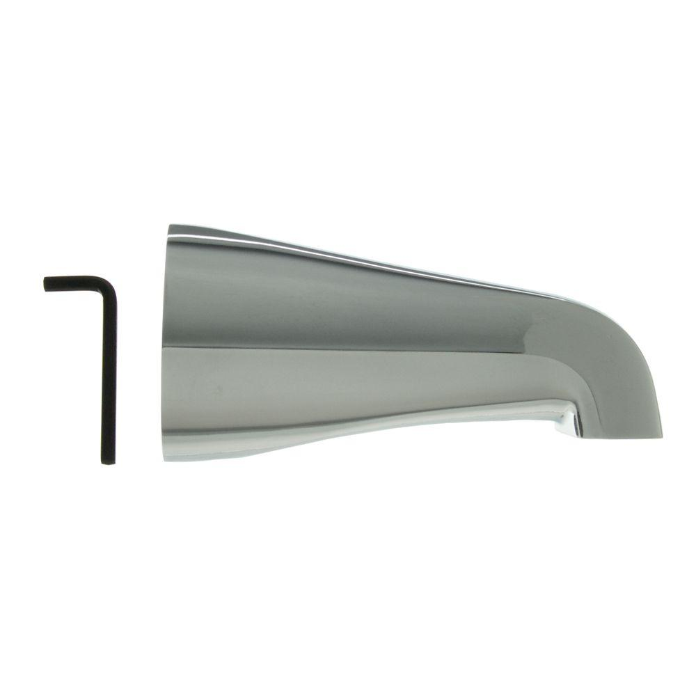 DANCO 1/2 in. Tub Spout in Chrome-89162 - The Home Depot