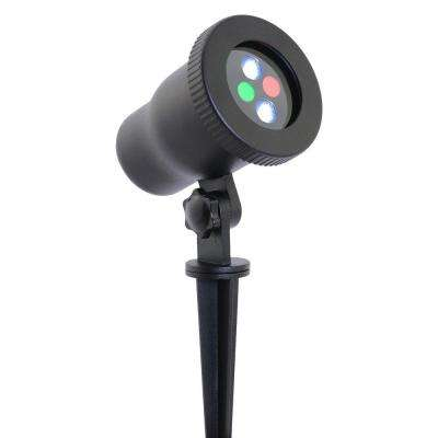 Night Stars LED Outdoor Landscape Lighting Red and Green Lasers with Integrated LED Spot Light