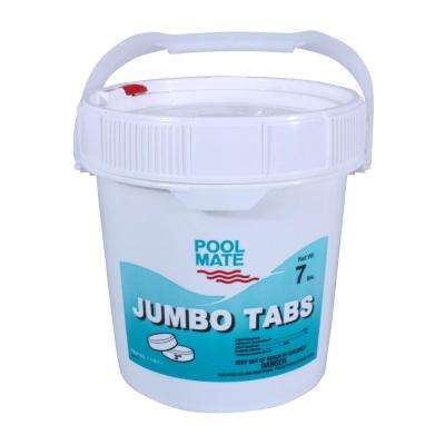 7 lb. Pool 3 in. Chlorine Jumbo Tabs