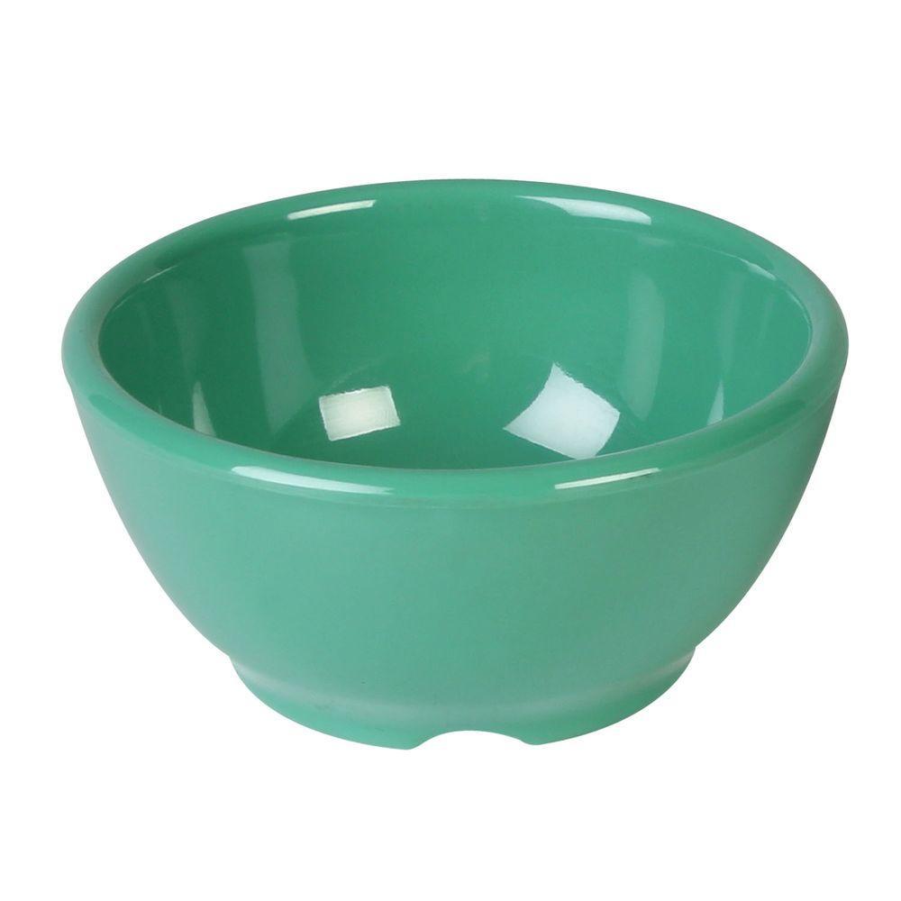 Coleur 10 oz., 4-5/8 in. Soup Bowl in Green (12-Piece)