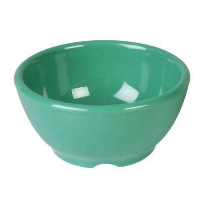 Coleur 10 oz., 4-5/8 in. Soup Bowl in Green (12-Piece)