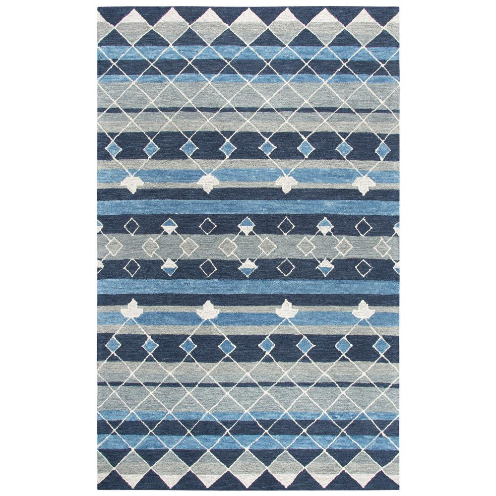 d2b3bc87ed9e Resonant Blue Multicolor 9 ft. x 12 ft. Rectangle Area Rug. Write a review