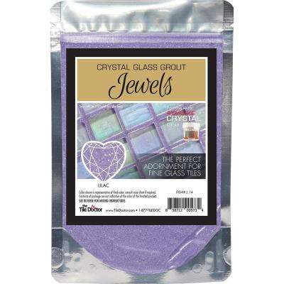 Crystal Glass Jewels Lilac Additive