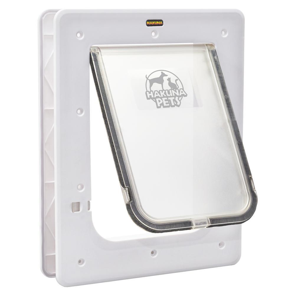 home depot dog door. White Large Super Tough Pet Door 11 6 in  x 16 7 1127 The