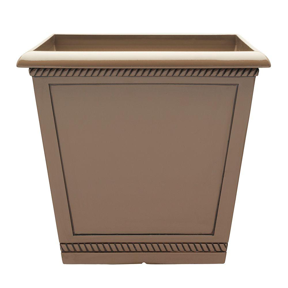 Southern Patio 17.5 In. Dia Saddle Westhaven Ceramix Planter