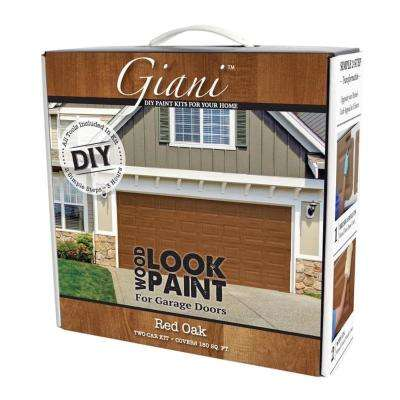 Red Oak 2 Car Garage Kit