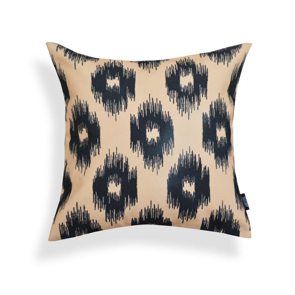 Black And Tan Decorative Pillows