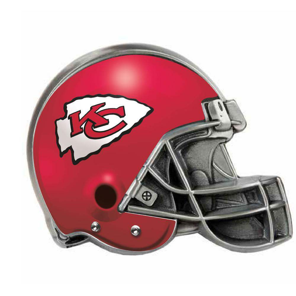 Kansas City Chiefs Helmet Hitch Cover