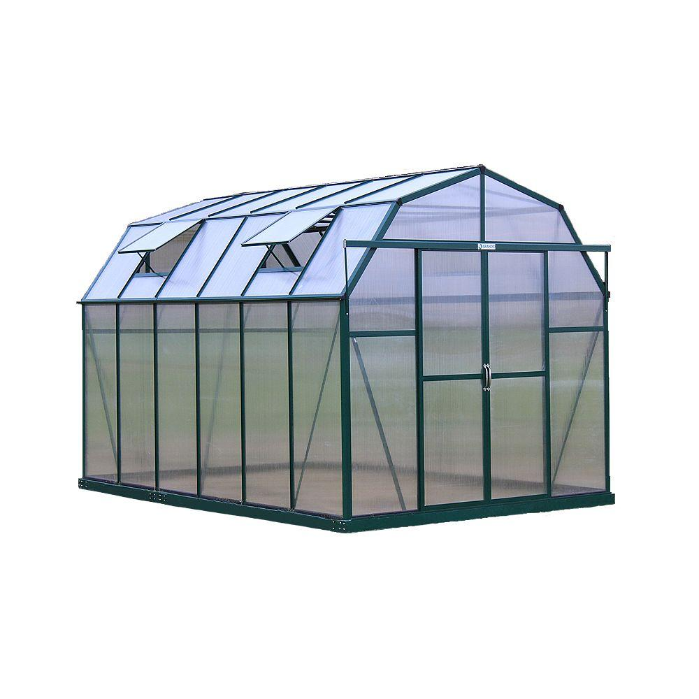 Portable Indoor Greenhouse : Monticello ft black premium greenhouse mont