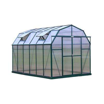 Elite 8 ft. W x 12 ft. D x 8 ft. H Heavy-Duty Aluminum Greenhouse Kit