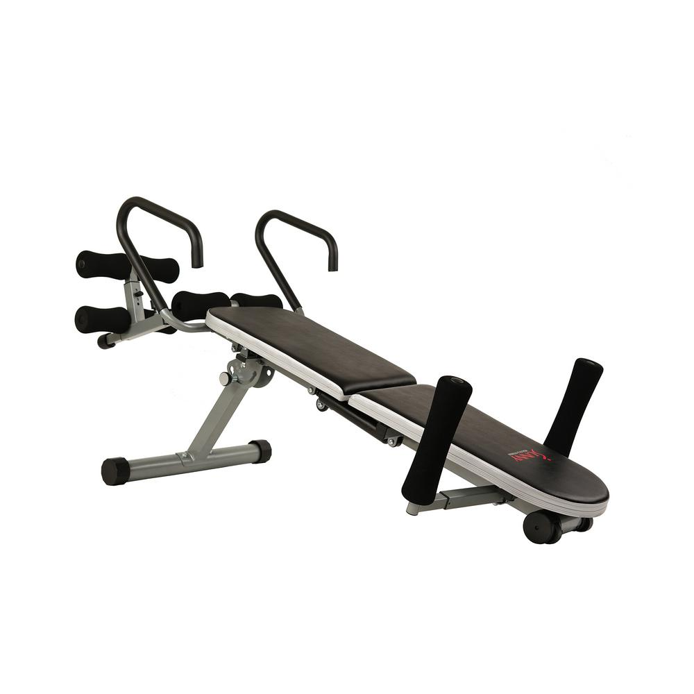 Sunny Health and Fitness Invert Extend N Go Back Stretcher Bench