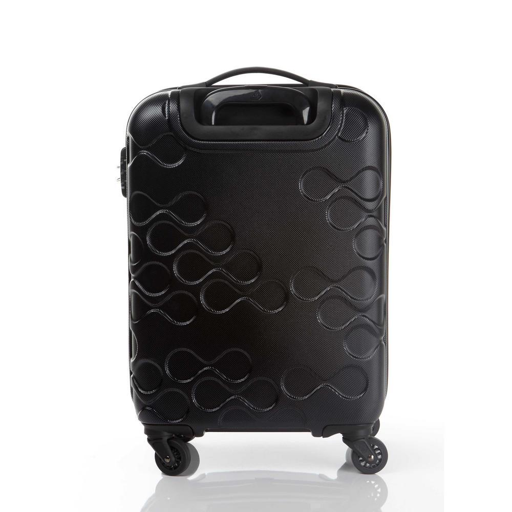 84e809872 Kamiliant Harrana Black 3-Piece Spinner Luggage Set 104935-1041 - The Home  Depot