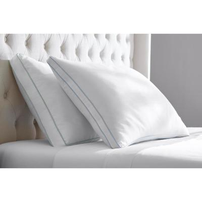 Medium/Firm Down Alternative Density Bed Pillow (Set of 2)