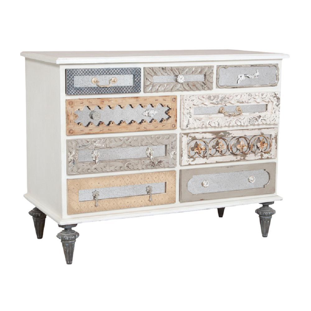 Garden Lattice White Dresser