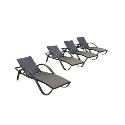 Deco Patio Chaise Lounge (4-Pack)