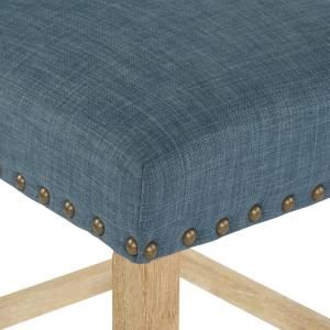 Surprising Osp Home Furnishings 24 In Milford Indigo Fabric With Ibusinesslaw Wood Chair Design Ideas Ibusinesslaworg