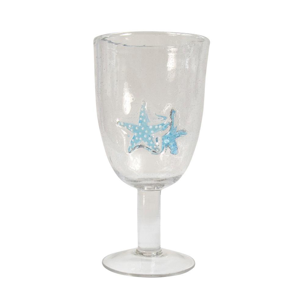 Starfish 15 oz. Goblet (Set of 6)