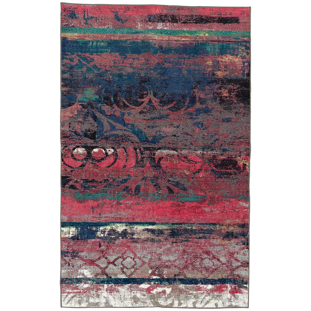 Mohawk Eroded Color Pink 7 Ft 6 In X 10 Area Rug