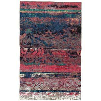 Eroded Color Pink 8 ft. x 10 ft. Area Rug