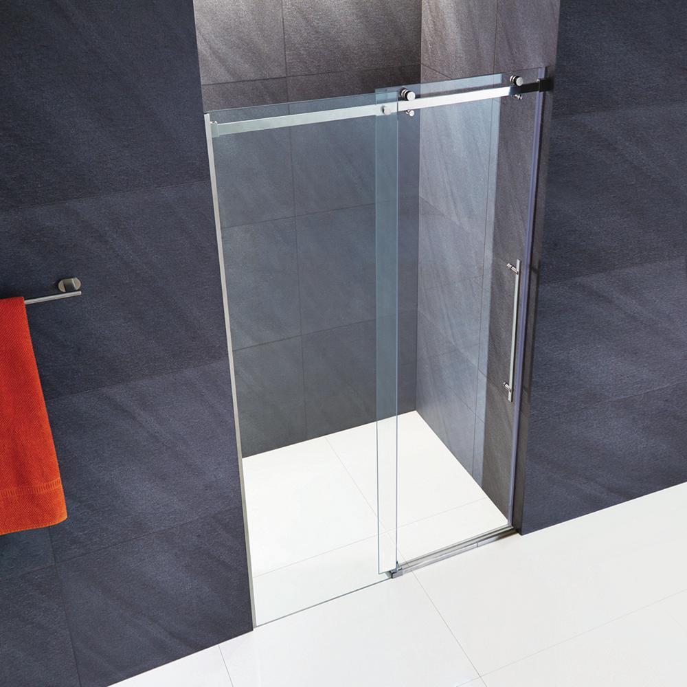 bathroom glass doors. Luca  Shower Doors Showers The Home Depot