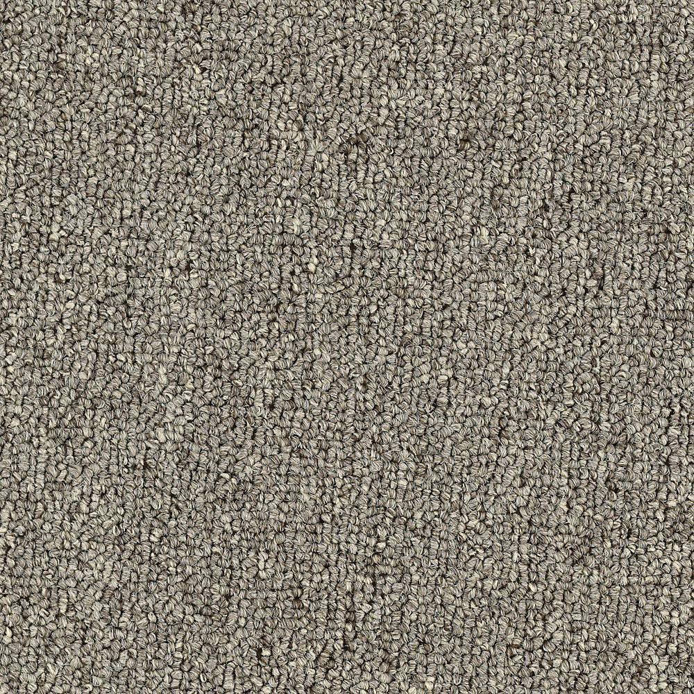 Carpet Sample - Top Rail 26 - Color Butternut Loop 8 in. x 8 in.