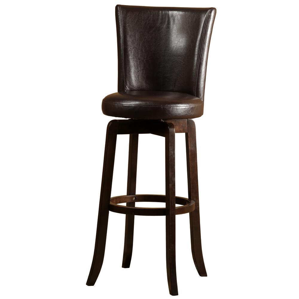 Hillsdale Furniture Copenhagen 26 In Espresso Swivel