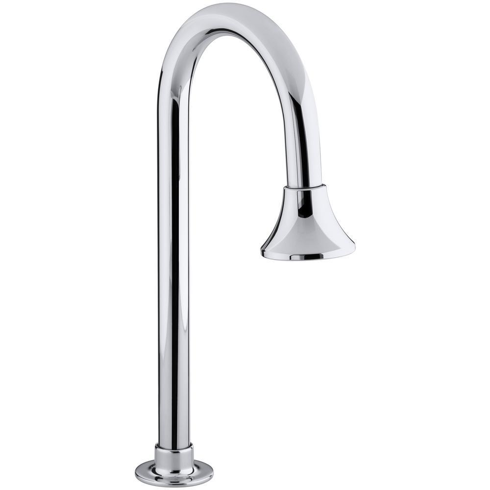 kohler bathroom faucet spout in polished the home depot