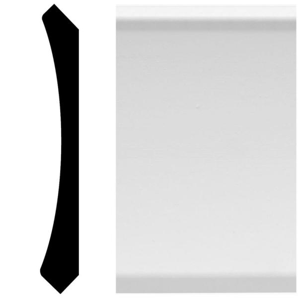 8843 9/16 in. x 4-1/4 in. x 96 in. MDF Crown Moulding