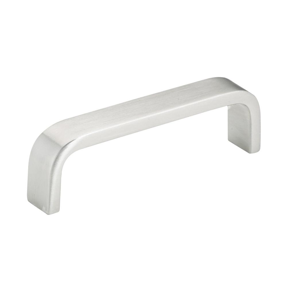 Richelieu Hardware 3-3/4 in. (96 mm) Center-to-Center Stainless Steel Contemporary Drawer Pull