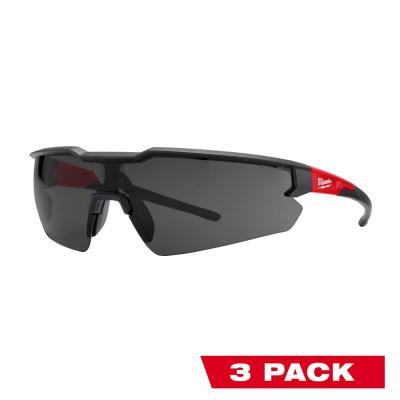 Safety Glasses with Tinted Anti-Fog Lenses (3-Pack)