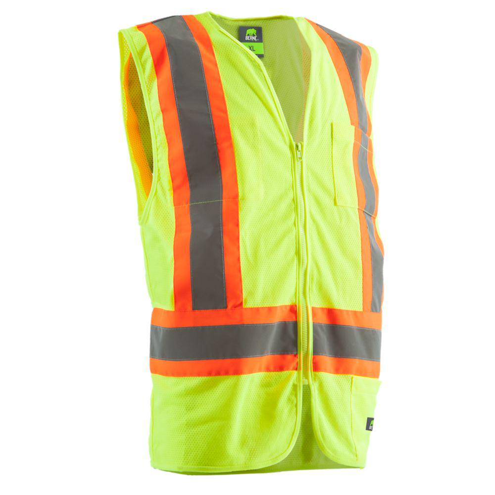 Berne Men's Medium Hi-Visibility Multi-Color Vest