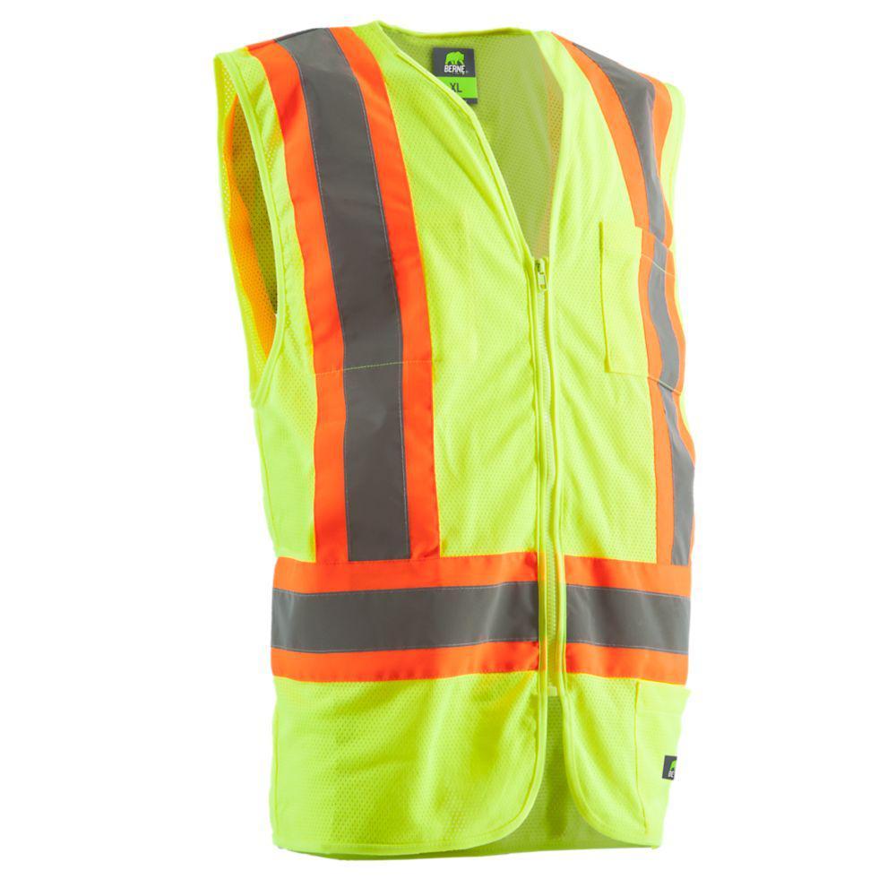 Men's X-Large Hi-Visibility Multi-Color Vest