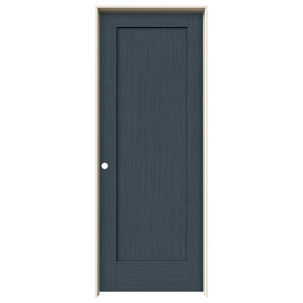 Jeld Wen 32 In X 80 In Madison Denim Stain Right Hand