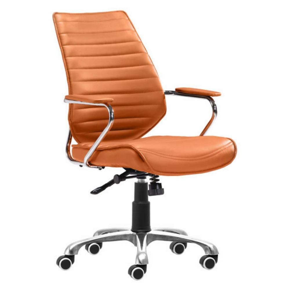 Julia Terra Leatherette Low Back Office Chair