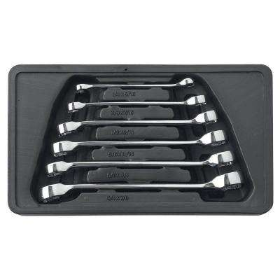 SAE Flare Nut Wrench Set (6-Piece)