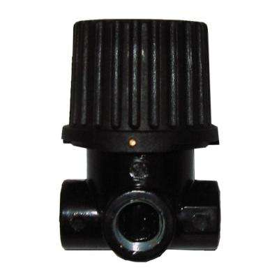 1/4 in. NPT Inlet/Outlet x 1/4 in. NPT Gauge Pressure Regulator