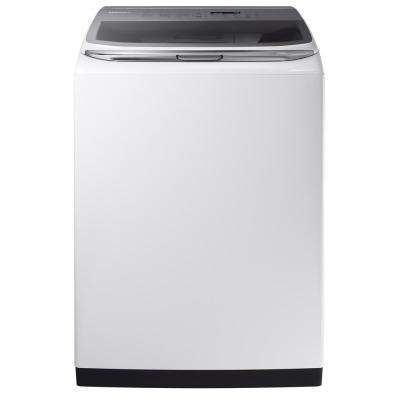5.4 cu. ft. High-Efficiency Top Load Washer with Activewash and Steam in White, ENERGY STAR