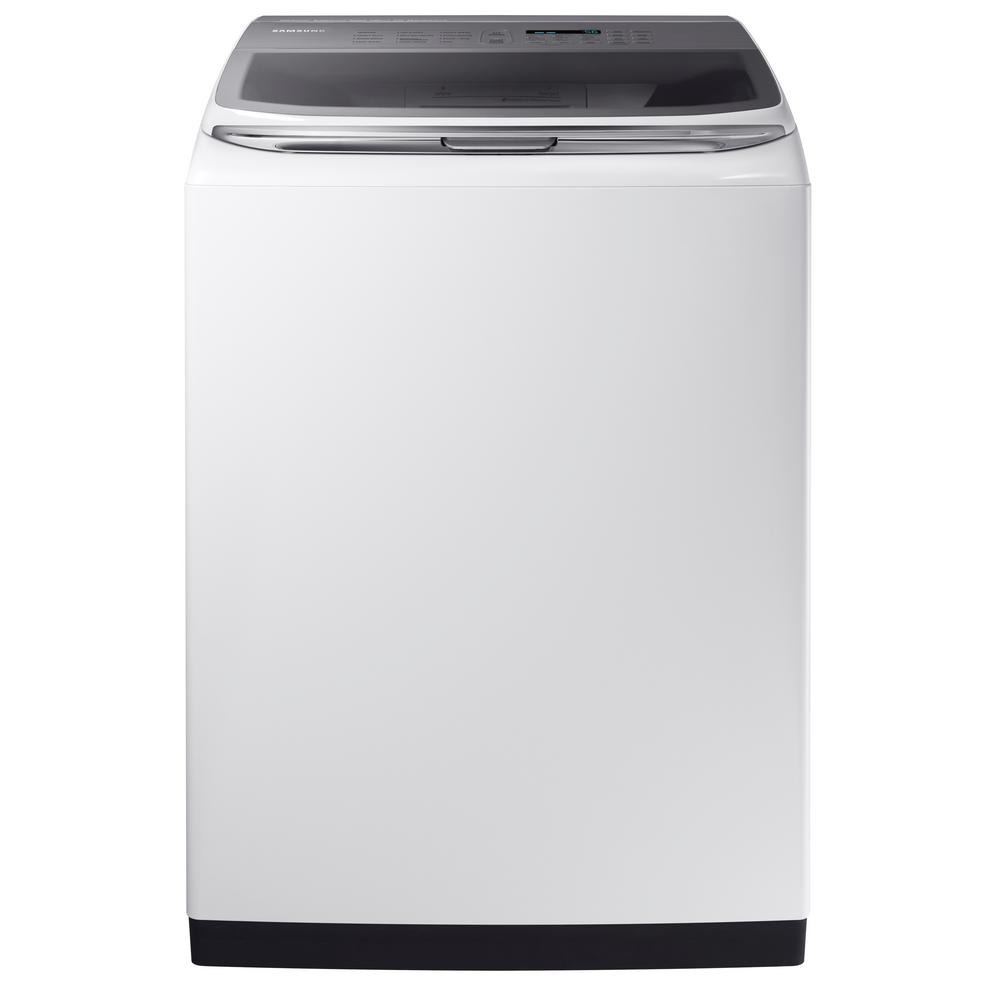 15909b2a8526 High-Efficiency Top Load Washer with Activewash and Steam in White, ENERGY  STAR