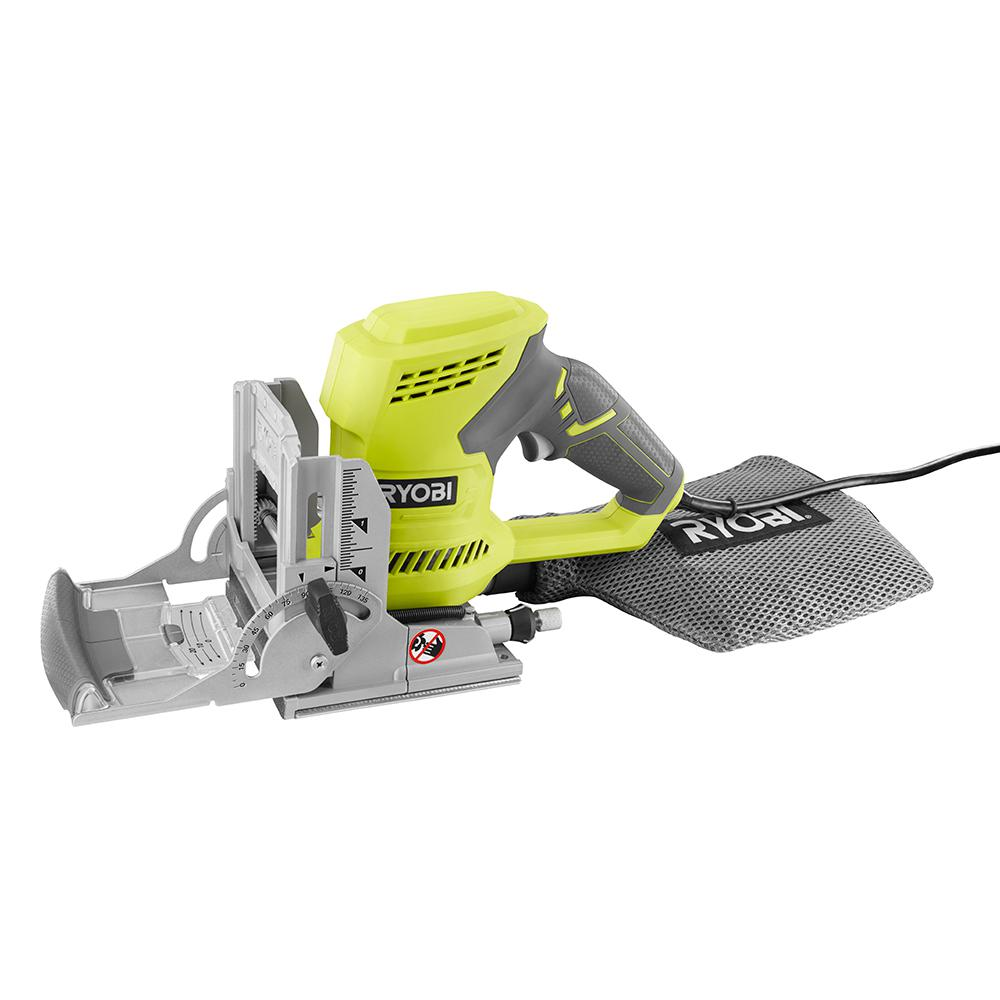 Ryobi 6 Amp Ac Biscuit Joiner Kit With Dust Collector And Bag