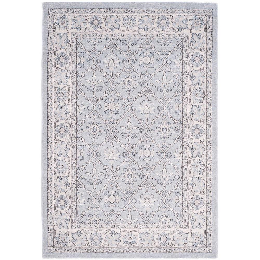 Safavieh Carmel Light Blue Ivory 5 Ft X 8 Area Rug