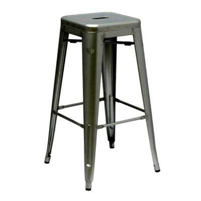 30 in. Gunmetal Talix Bar Stool