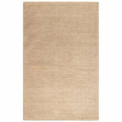 Simplify Beige 5 ft. 3 in. x 8 ft. 3 in. Area Rug