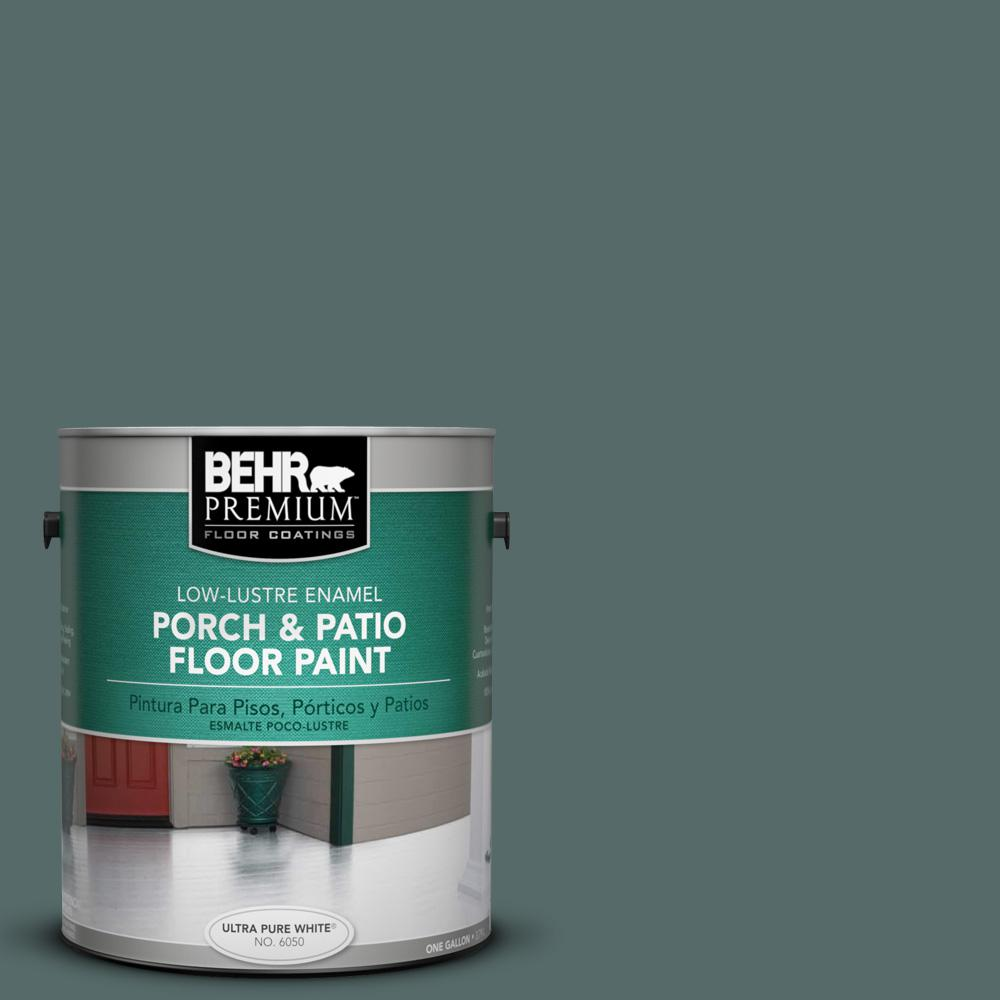 BEHR Premium 1 gal. #N430-6 Meteorological Low-Lustre Interior/Exterior Porch and Patio Floor Paint
