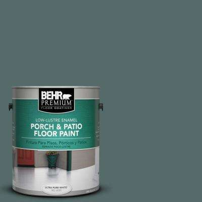1 gal. #N430-6 Meteorological Low-Lustre Interior/Exterior Porch and Patio Floor Paint