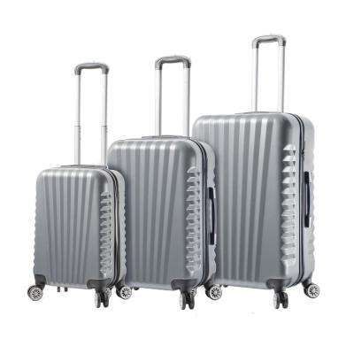 Catania 3-Piece Grey Spinner Luggage Set