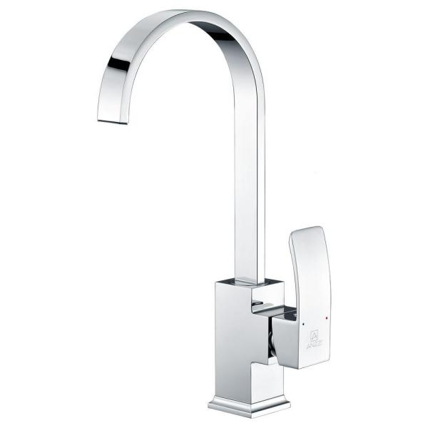Opus Series Single-Handle Standard Kitchen Faucet in Polished Chrome
