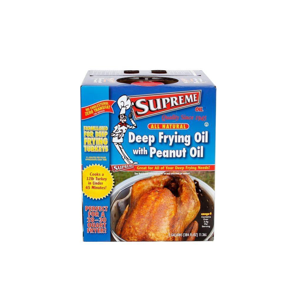 Supreme Deep Frying Oil with PNT Oil 384 fl. oz.